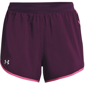 Under Armour Fly By 2.0 Pantaloncini Donna, viola